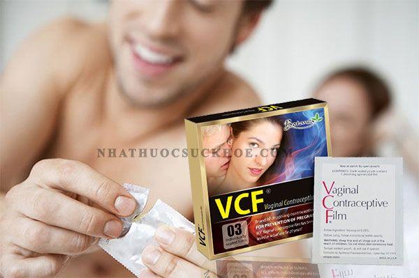Công dụng của màng phim tránh thai Vcf
