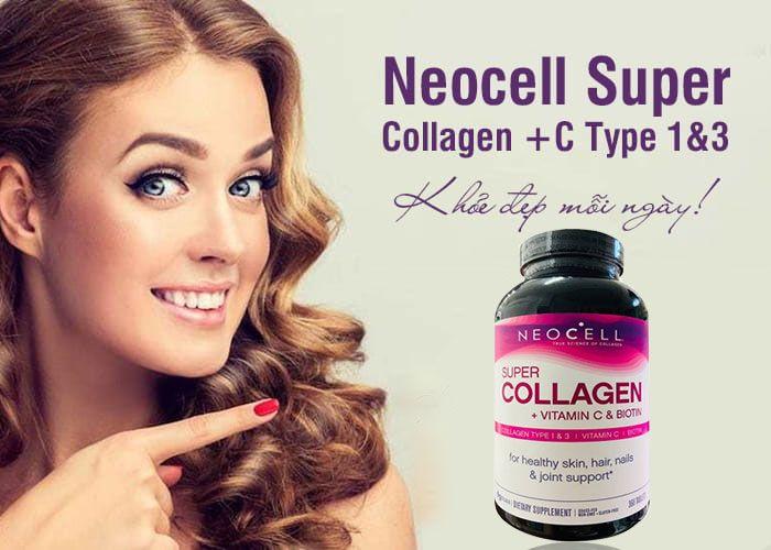 Đặc điểm nổi bật của viên uốngNeoCell Super Collagen + C