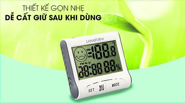 Tính năng nổi bật của Nhiệt ẩm kế Lanaform LA120701