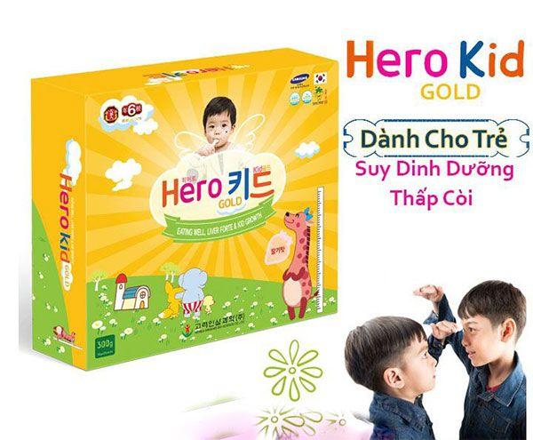 Công dụng của siro Hero Kid Gold