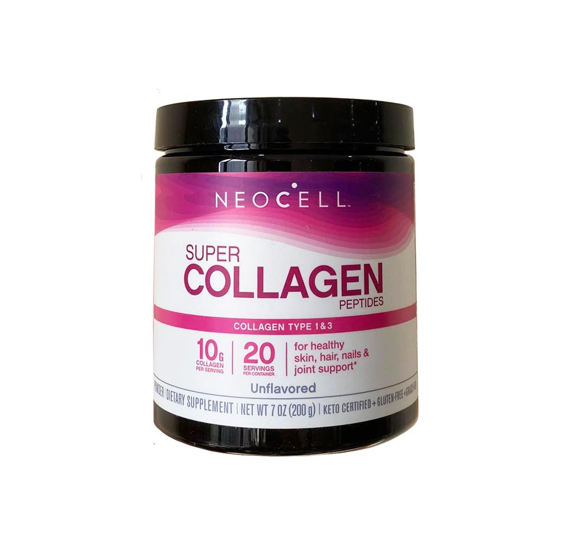 Super Collagen Neocell dạng bột 6600 mg 7oz 198 gr (mẫu mới)