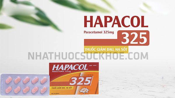 Thành phần Thuốc Hapacol 325mg