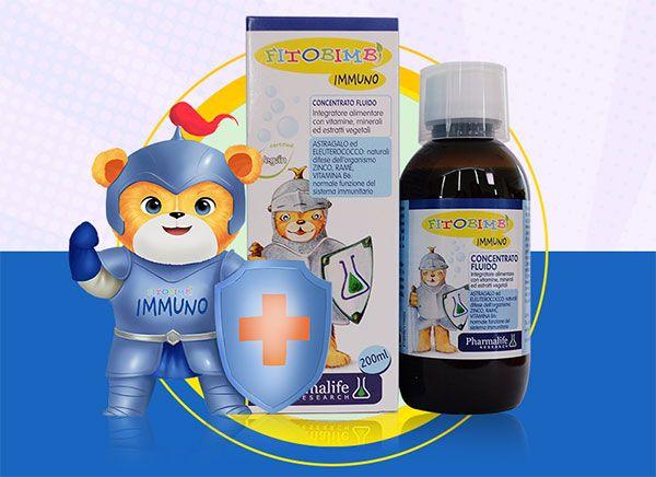 Thuốc Immuno Fitobimbi - Siro tăng đề kháng miễn dịch cho trẻ