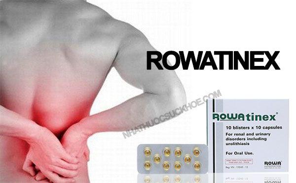 Công dụng của thuốcRowatinex