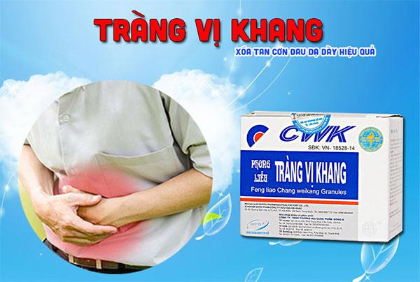 Thành phần của thuốc cốm Tràng Vị Khang