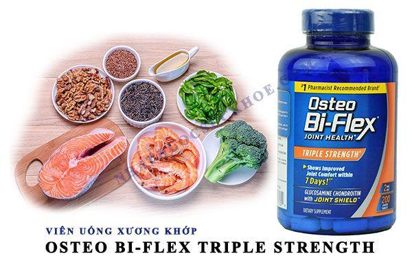 Công dụng chính của Viên uống bổ khớp Osteo bi flex Triple Strength