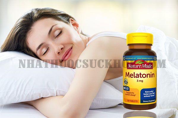 Công dụng của viên uống Nature Made Melatonin 3mg