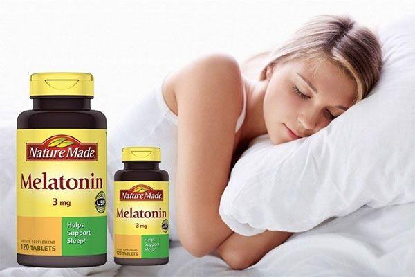Viên uống Nature Made Melatonin 3mg cải thiện mất ngủ, mệt mỏi