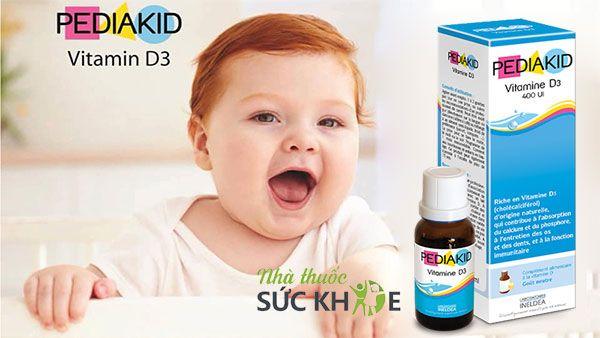 Thành phần của Vitamin Pediakid D3