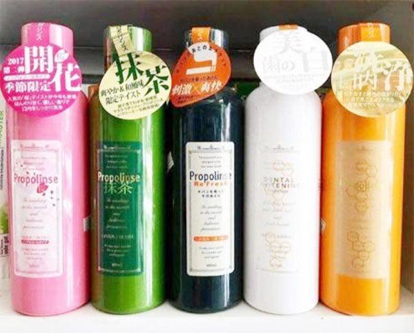 Công dụng của nước súc miệng propolinse là gì?