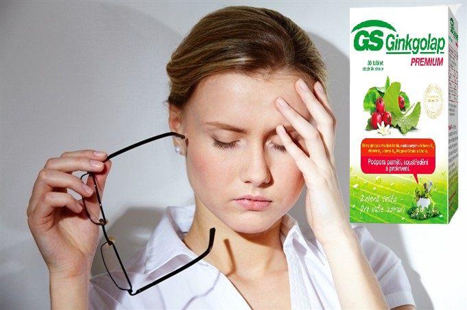 Viên uống hỗ trợ não bộ GS Ginkgolap Premium cải thiện căng thẳng, mệt mỏi