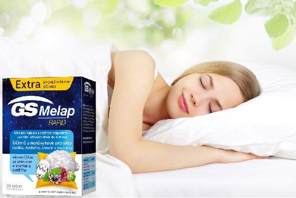 Viên uống hỗ trợ ngủ ngon GS Melap Rapid giúp cải thiện chất lượng giấc ngủ hiệu quả