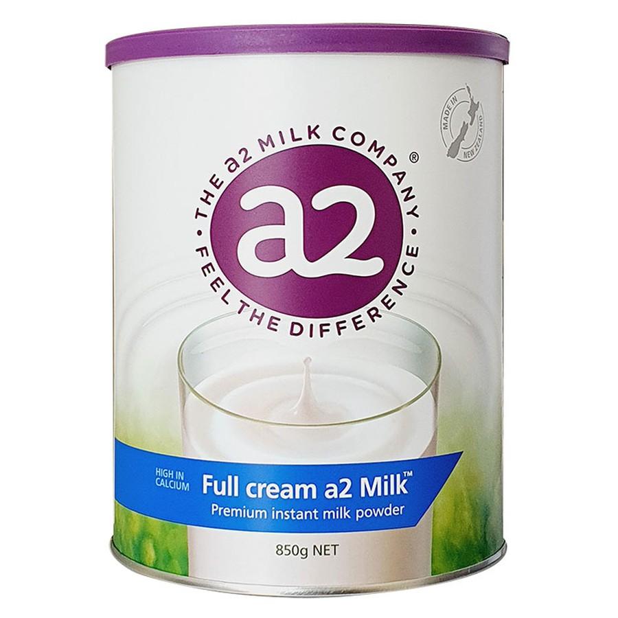 Sữa Nguyên Kem Dạng Bột A2 Úc lon 850g
