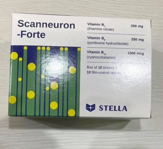 Thuốc trị các bệnh về rối loạn hệ thần kinh Scanneuron-Forte