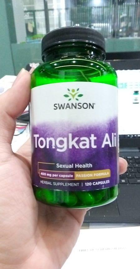 Viên uống Tongkat Ali Malaysia Swanson Passion 400mg