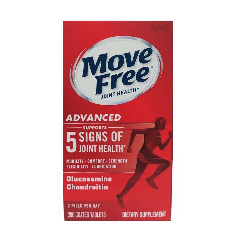 Viên uống Schiff Move Free Advanced Triple Strength hộp 200 viên