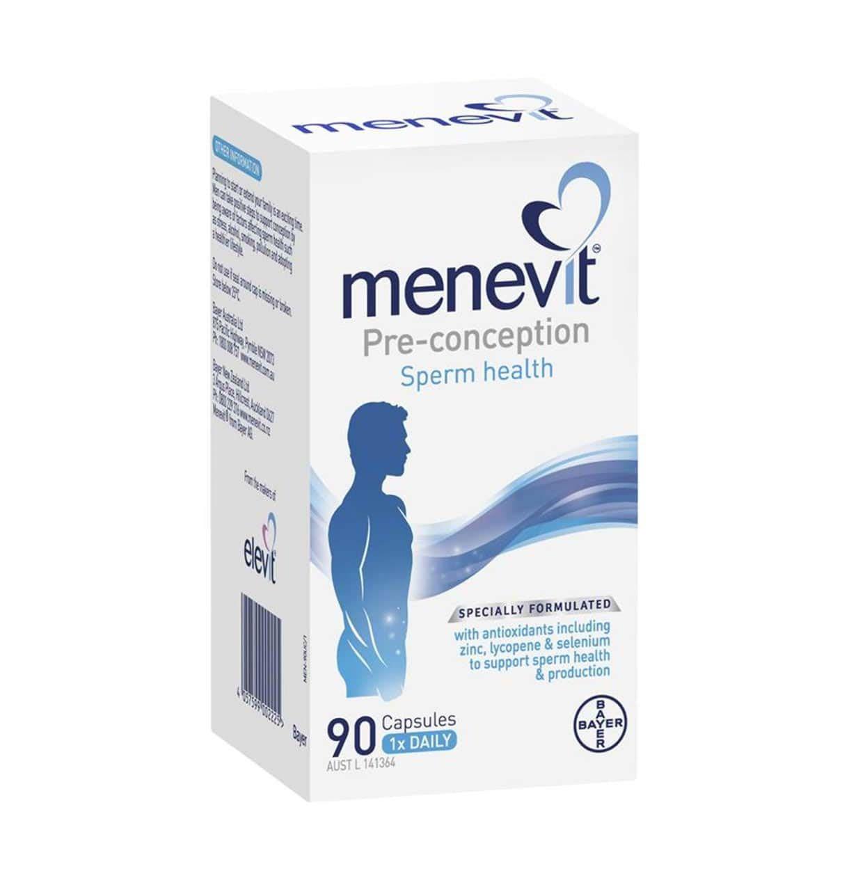 Viên uống Menevit của Úc chính hãng 90 viên
