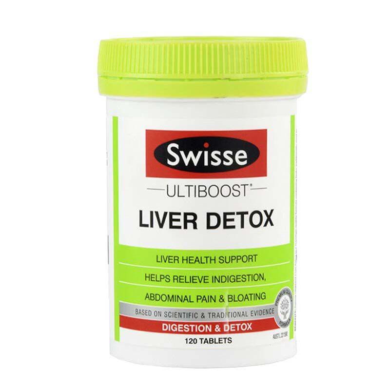 Viên uống Swisse Liver Detox chính hãng của Úc hộp 120 viên