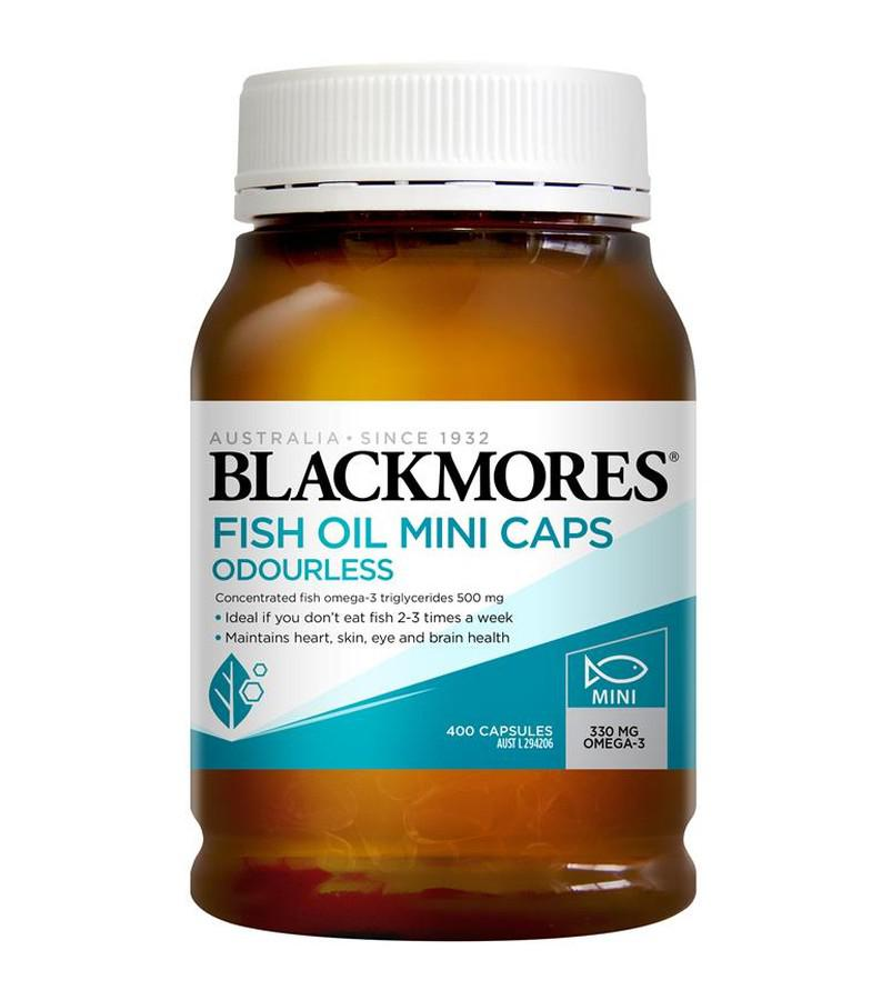 Dầu cá không mùi Blackmores Fish Oil Mini Caps Odourless