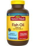 Dầu cá Nature Made Fish Oil Omega 3 1200mg hộp 200 viên