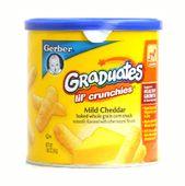 Bánh ăn dặm Gerber Graduates vị phô mai (6 tháng tuổi)