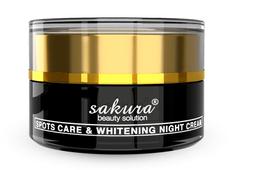 Kem trị nám dưỡng trắng Sakura ban đêm Whitening Night Cream