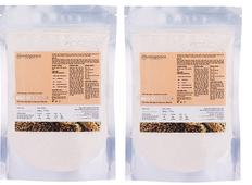 Combo 2 Bột yến mạch nguyên chất Milaganics (200g/ túi)