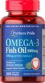 Dầu cá Puritan's Pride Omega 3 Fish Oil 1000mg