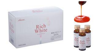Nước uống trắng da Collagen Rich White của Nhật