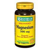 Viên uống bổ sung Magiê Good'N Natural Magnesium 500mg