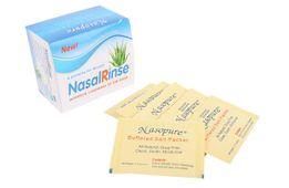 Muối rửa mũi Nasal Rinse hộp 25 gói