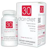 30 Day Diet - Viên Uống Hỗ Trợ Cải Thiện Cân Nặng Của Mỹ