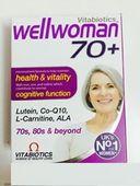 Vitamin tổng hợp cho phụ nữ trên 70 tuổi Wellwoman 70+