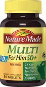 Vitamin tổng hợp cho nam Nature Made Multi For Him 50+ 90 viên