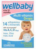 Vitamin tổng hợp Wellbaby Drops cho bé từ 4-12 tháng