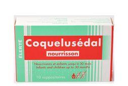 Viên đặt Coquelusedal cho trẻ từ sơ sinh tới 30 tháng của Pháp