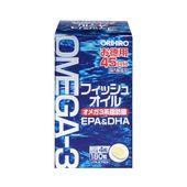 Dầu cá Omega 3 Orihiro 180 viên Nhật Bản