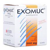 Thuốc trị rối loạn phế quản Exomuc Acetylcysteine (200mg)