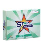 Viên ngậm khử khuẩn, giảm đau họng Star Sore Throat(2vỉ x 8viên/hộp)