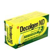 Thuốc điều trị các triệu chứng cảm Decolgen ND