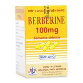 Thuốc trị hội chứng lỵ do trực khuẩn, viêm ruột Berberin