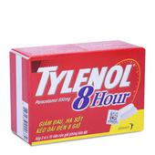 Thuốc Tylenol 8 Hour 650mg giúp giảm đau hạ sốt