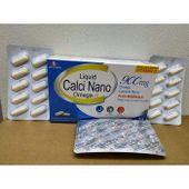 Calci Nano Omega 3 hỗ trợ xương khớp và phát triển chiều cao