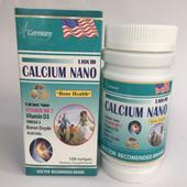 Calcium Nano bổ sung canxi cho cơ thể- Xuất xứ Việt Nam