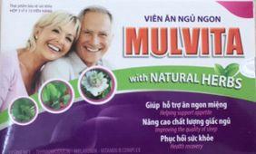 Viên ăn ngủ ngon Mulvita (hộp 3vỉ x 10 viên nang)-Hoàng Liên