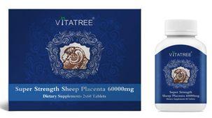 Nhau Thai Cừu Vitatree 60000mg Hộp 120 Viên Chính Hãng Của Úc