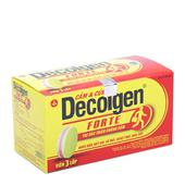 Thuốc trị triệu chứng nhức đầu, đau, sốt Decolgen Forte