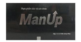 Viên uống Manup cho nam giới hộp 6 viên chính hãng