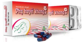 Phụ huyết khang - hỗ trợ điều hòa kinh nguyệt, bổ huyết