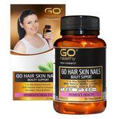 Viên uống Go Hair Skin Nails Beauty Support - Hỗ trợ mọc tóc